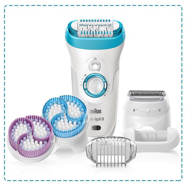 Braun Silk Epil 9 9-561 Women's Wet and Dry Cordless Epilator Electric Hair Removal
