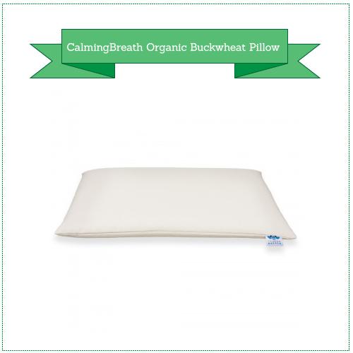 CalmingBreath 100% Organic Buckwheat Pillow