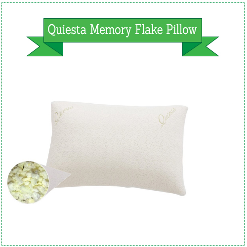 Quiesta Memory Flake Pillow