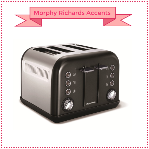 Morphy Richards Accents Four Slice Toaster