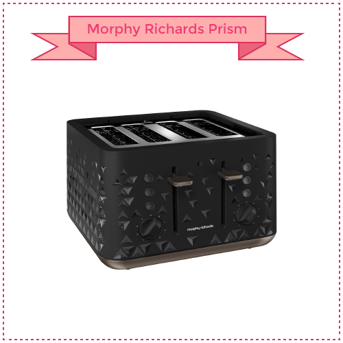 Morphy Richards Prism Four-Slice Toaster